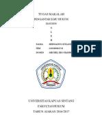 Resume Pengantar Ilmu Hukum