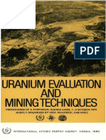 Uranium Evaluation
