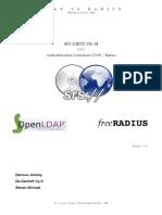 ⭐SÉCURITÉ DU SI. Authentification Centralisée LDAP _ Radius. Denoun Jérémy De Daniloff Cyril Bettan Michael SUJET_ Version _ 1