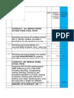 Comparison Cost Concreting
