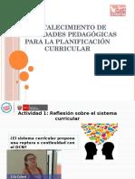 Orientaciones Generales Para La Planificación Curricular