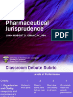 Classroom Debate for Jurisprudence