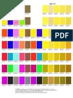 Base de Cores Impressora Epson