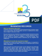 Business Records