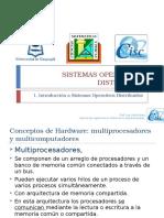 1 Introducción a Sistemas Operativo Distribuido Parte 1