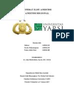Referat Ilmu Anestesi Anes Regional