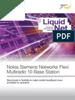 Nokia Siemens Networks Flexi MR 10 BTS Datasheet 19022013