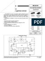 MC33191 - Automotive 12V Ignition Driver