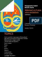 Permacultura - Corso Introduttivo