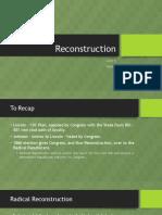 reconstruction part 2