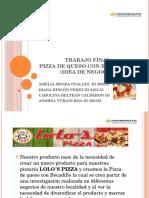Pizza de Queso Con Bocadillo