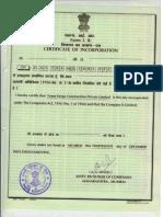 COI - J P Infra Housing Pvt Ltd (1)