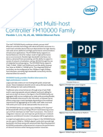 Ethernet Multi Host Controller Fm10000 Family Product Brief