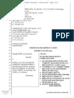 Mark Hunt UFC Lawsuit