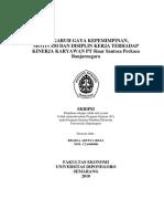 Motivasi (Maslow, 5 Pertanyaan) dan Kinerja (Bernadin).pdf