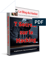 7 Secrets Sur Le Hacking