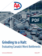 Grinding to a Halt, Evaluating Canada's Worst Bottlenecks