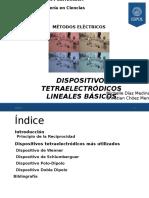 Dispositivos Tetraelectródicos Lineales Básicos