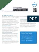 Dell R230 Datasheet