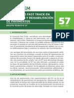 Boletin 57 El Concreto Fast Track