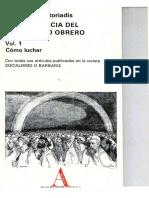 Castoriadis - ¿Cómo Luchar? (1958)