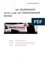 Calcul d'Un Nivellement Direct Par Un Cheminement Fermé V1 Univ Oran