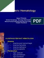 1. Hematologi Pada Anak
