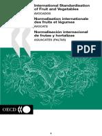 Norma OCDE Aguacate