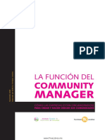 Community Manager Español