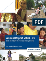 BAJAJ ALLIANZ Annual Report 2008-09