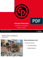 CP Rig Mounted Hydraulic Breakers Applications Capabilities