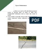 Maintenance of Road@Highways