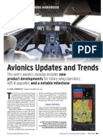 Avionic Updates and Trends