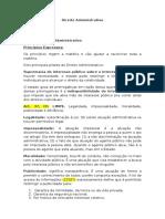Direito Material Administrativo