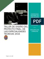 Manual Final Del Taller de Diseño Del Proyecto Final