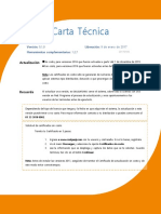 Carta Tecnica Nominas 910