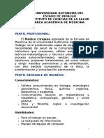 Perfil Ingreso - Egreso