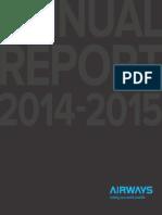 Airways Annual Report 2014 15 Web