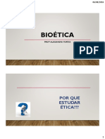 Aula Introdução a Bioética
