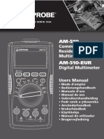 AM 510 Commercial Residential Multimeter Manual