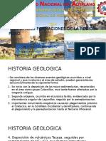 Formaciones Litoestratigraficas de La Region Puno