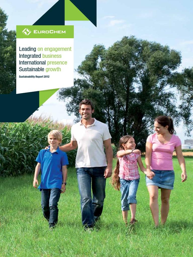 Eurochem SR12 Final   Sustainability   Fertilizer