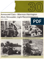 AFV Profile 030 - Armoured Cars - Marmon-Herrington, Alvis-Straussler, Light Reconnaissance