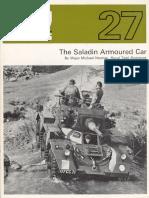 AFV Profile 027 - Saladin Armoured Car