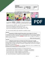 Avaliação de Língua Portuguesa_3º Bimestre_2016_4ºano