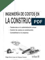 Ingeniería de Costos en La Construcción -Diego Arturo López