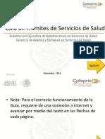Guia Tramites Servicios Sauld 2014