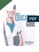 Education Guide, fall 2016