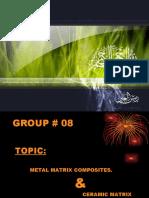 Metal Metrix Composites