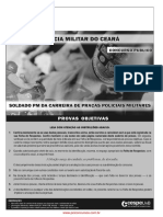 Prova Policia Militar CE